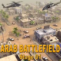 ArabBattlefield_St01 3dsMax