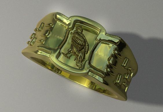 ring image condor 3d model