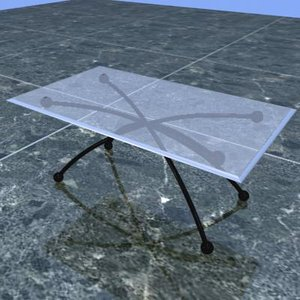 center table 3d 3ds