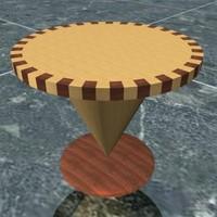 center table 3d model