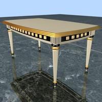 center table 3d 3ds