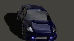 3d mitsubishi eclipse model