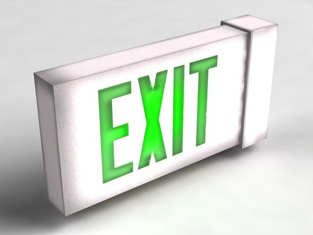 max exit sign