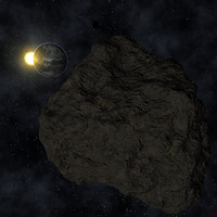 cinema4d asteroid space