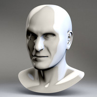 c4d human male head joe