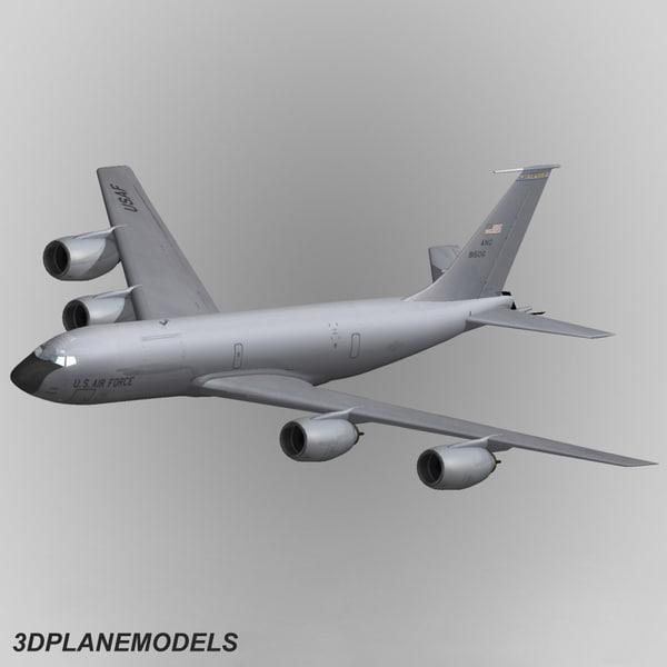 3d kc-135 r stratotanker kc-135r model
