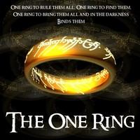 3d ring lord model