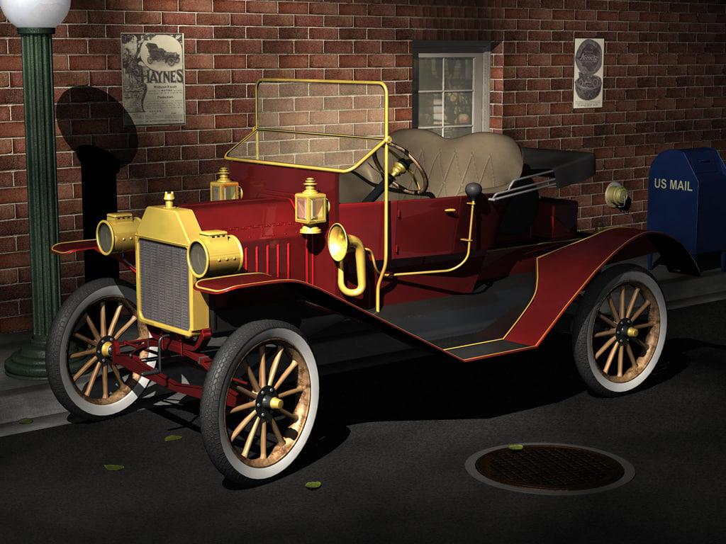 3dsmax old car