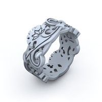 ring jewelry 3d max