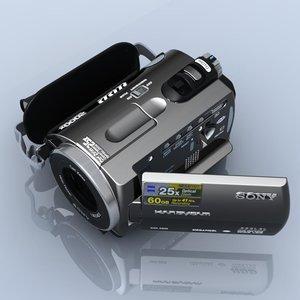 3d sony dcr sr82e camcorder