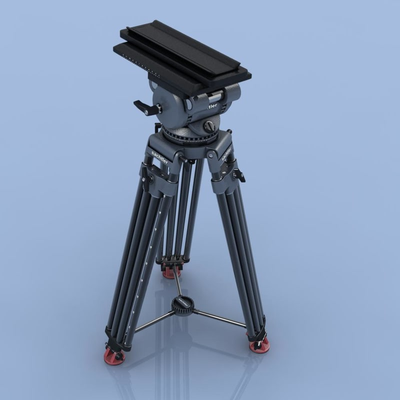 3ds max professional sachtler film camera