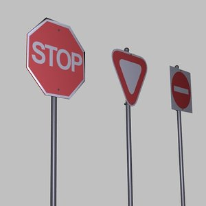 street signs s