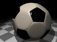-high soccer ball 3d model