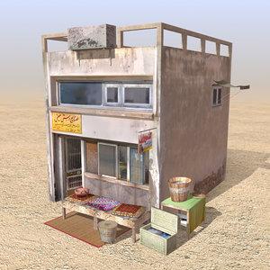 3ds arab store shops houses