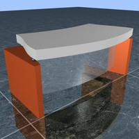 3ds max executive table