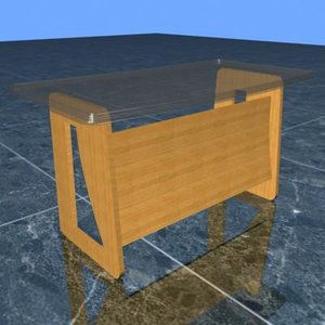 3d executive table