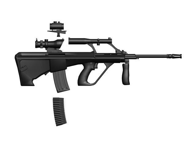 3dsmax aug gun