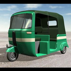 3dsmax auto rickshaw