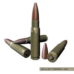 bullet federal 338 3d ma