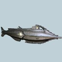 Nautilus Fantasy Submarine