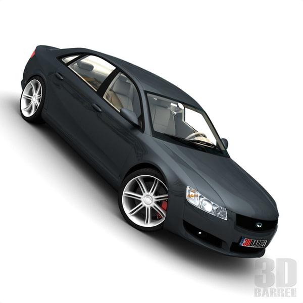 generic car - 3d 3ds