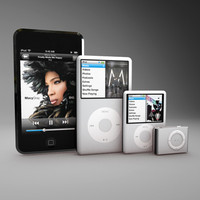 apple ipod obj