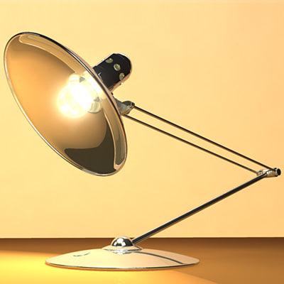 desktop light chrome 3d x