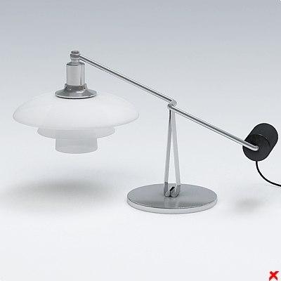 3d model lamp office