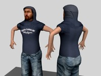 3d model guy male character