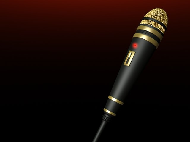 3d model microphone