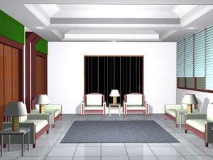 3d reception hall