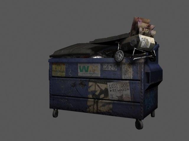 dumpster 3d 3ds