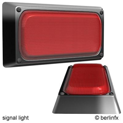 signal light 3d max