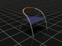 chair Vray