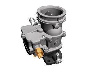 stromberg 97 carburetor 3d model