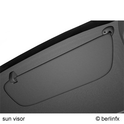 3d sun visor model