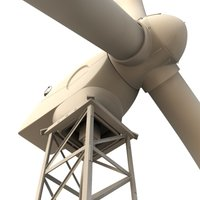 maya wind turbine windturbine
