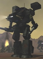 battletech whm-6d battlemech 3d model