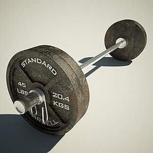 max olympic weight bench barbell