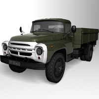 zil-130 truck 3d max