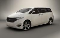 3d model 2009 nissan forum concept