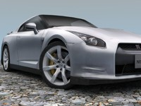 Nissan GT-R 2009 (mid.poly)