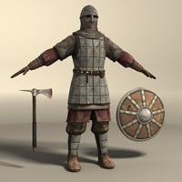 3ds max medieval warrior