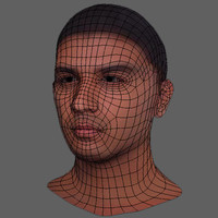 3ds max indian male head