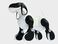 3d aibo robotic model