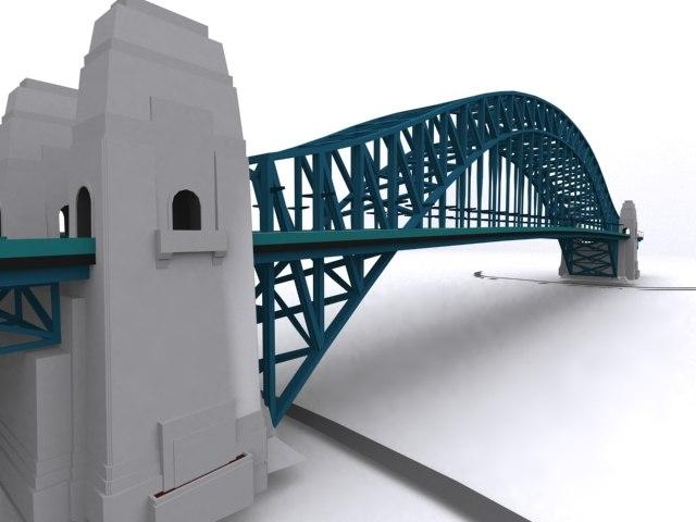 3d bridge games scenes