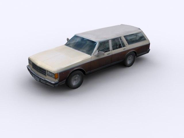 3d hearse model