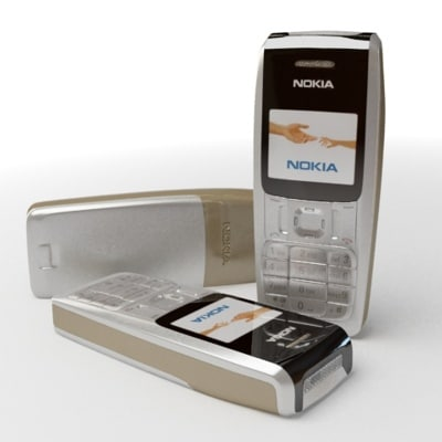 3ds max nokia 2310 cell phone