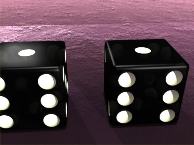 3ds max pair dice