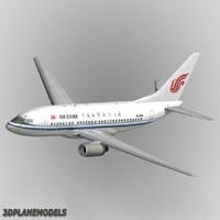 3d b737-600 air china model